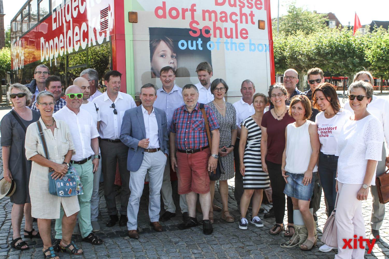 Düsseldorf investiert in den kommenden Jahren rund 1 Milliarde Euro in den Schulbau. 2019 wurde viele Projekte umgesetzt (Foto: xity)