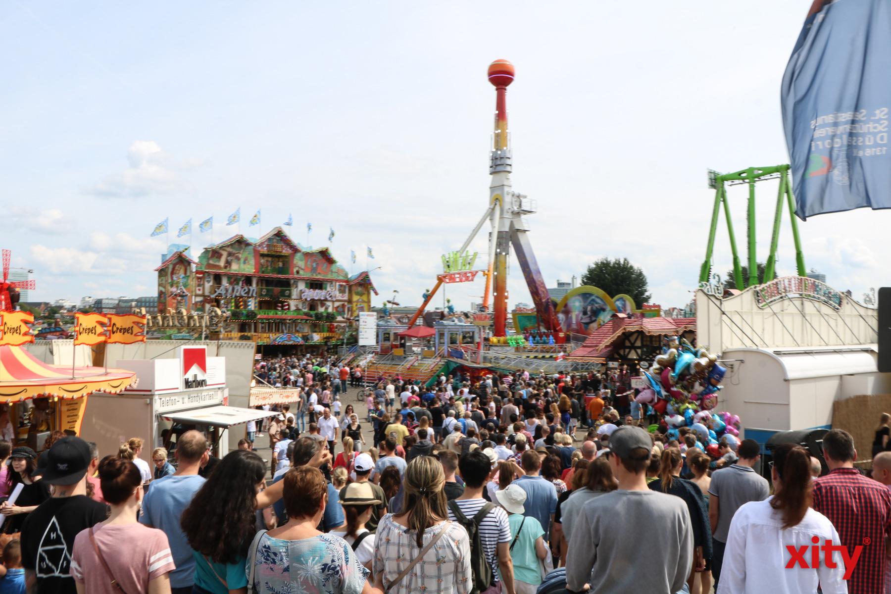 Die Größte Kirmes am Rhein zog in diesem Jahr rund 3,9 Millionen Besucher an. (Foto: xity)