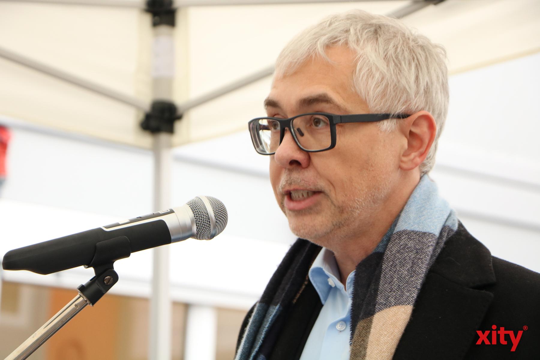 Helge Bonholt, Schulleiter des Weiterbildungskollegs der Stadt Düsseldorf (Foto: xity)