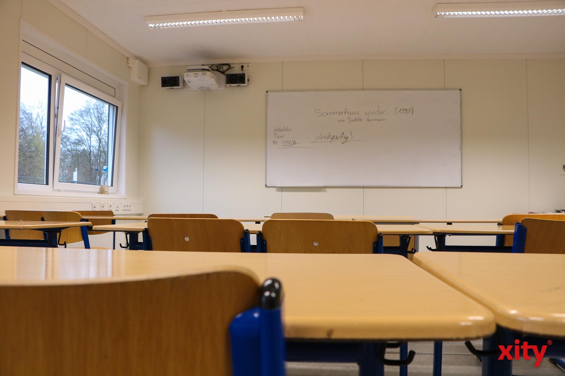 Auch auf aktuelle Technik müssen die Lehrkräfte nicht verzichten (Foto: xity)