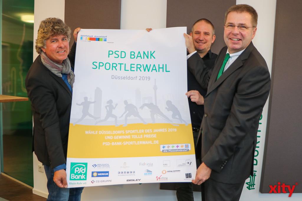 Michael Welling, Oliver Bendt und August-Wilhelm Albert freuen sich auf die Sportlerwahl (Foto: xity)