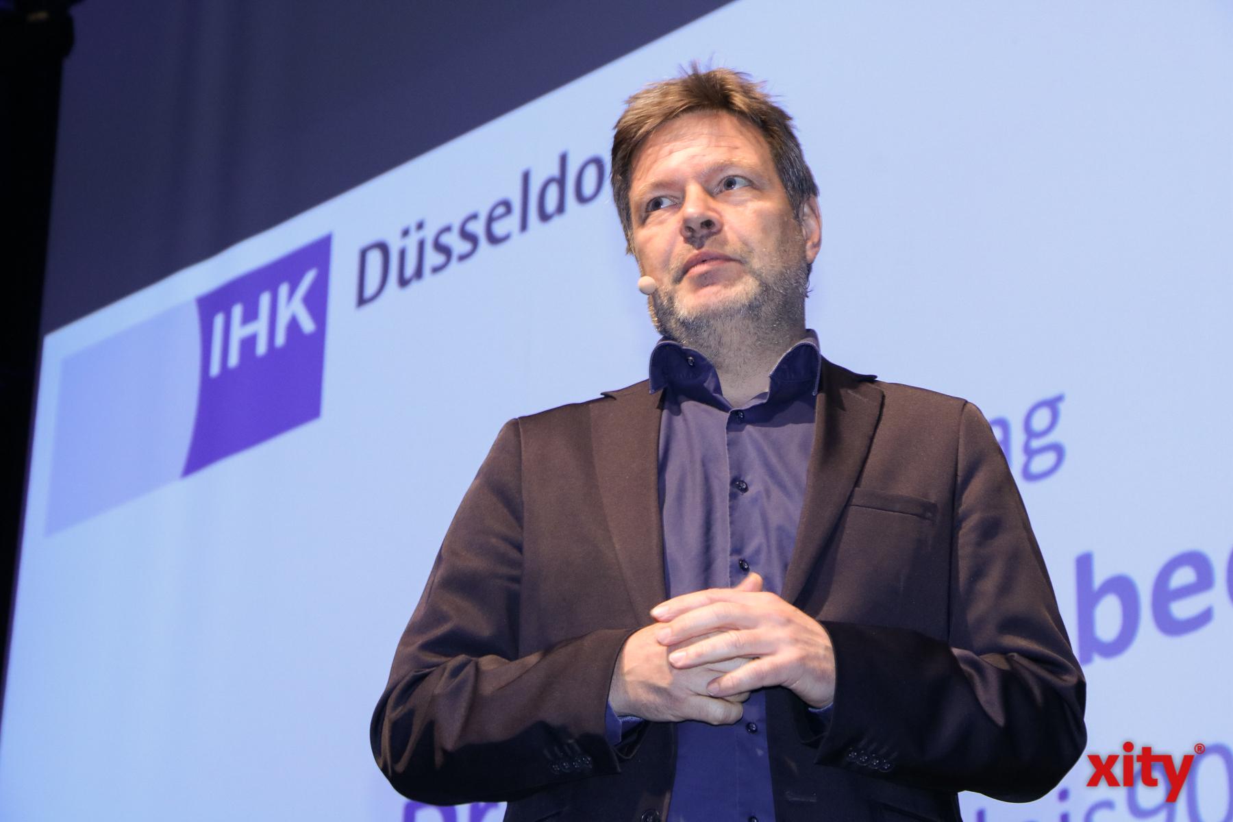 Gastredner des IHK Jahresempfangs war Robert Habeck, Bundesvorsitzender Bündnis 90/Die Grünen (Foto: xity)