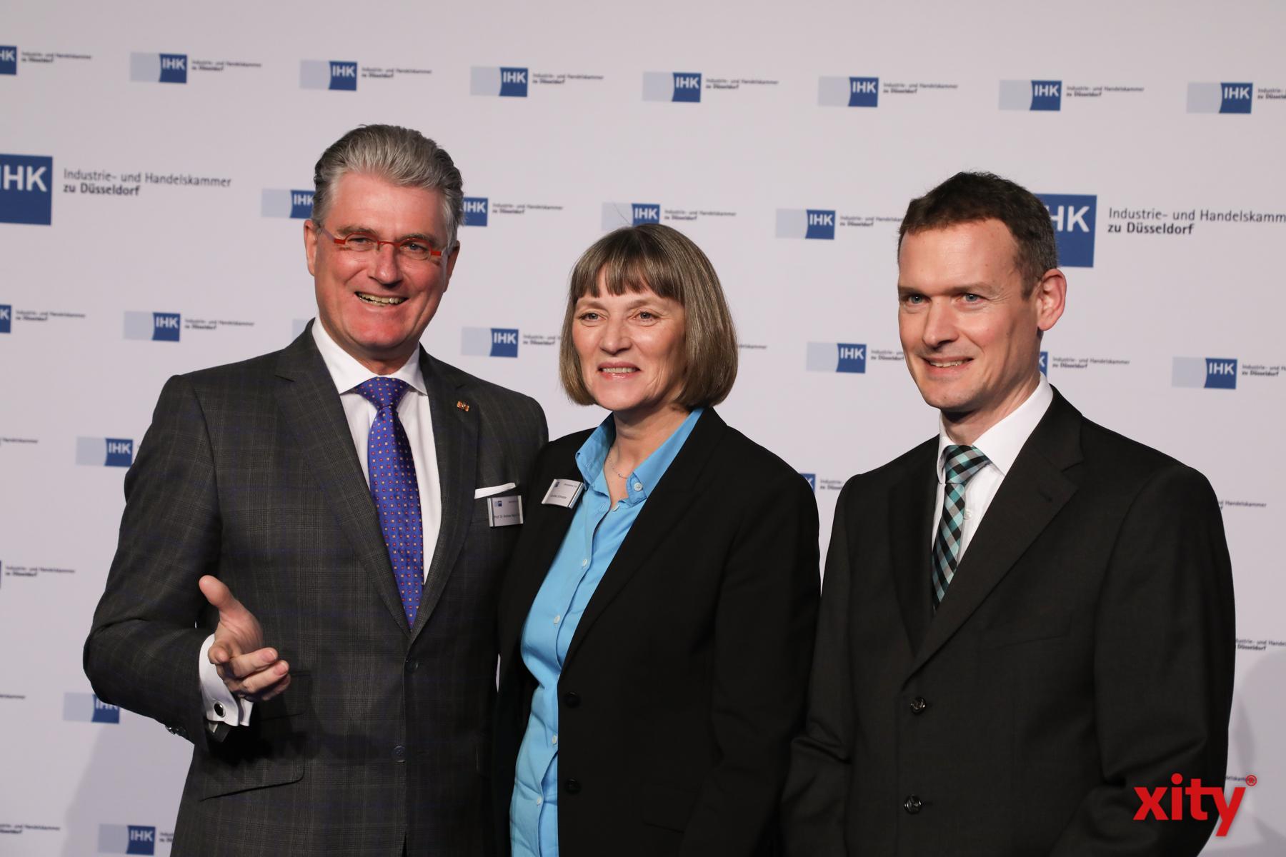 Prof. Dr. Andreas Meyer-Falcke, Dorothée Schneider und Jochen Reiter (Foto: xity)
