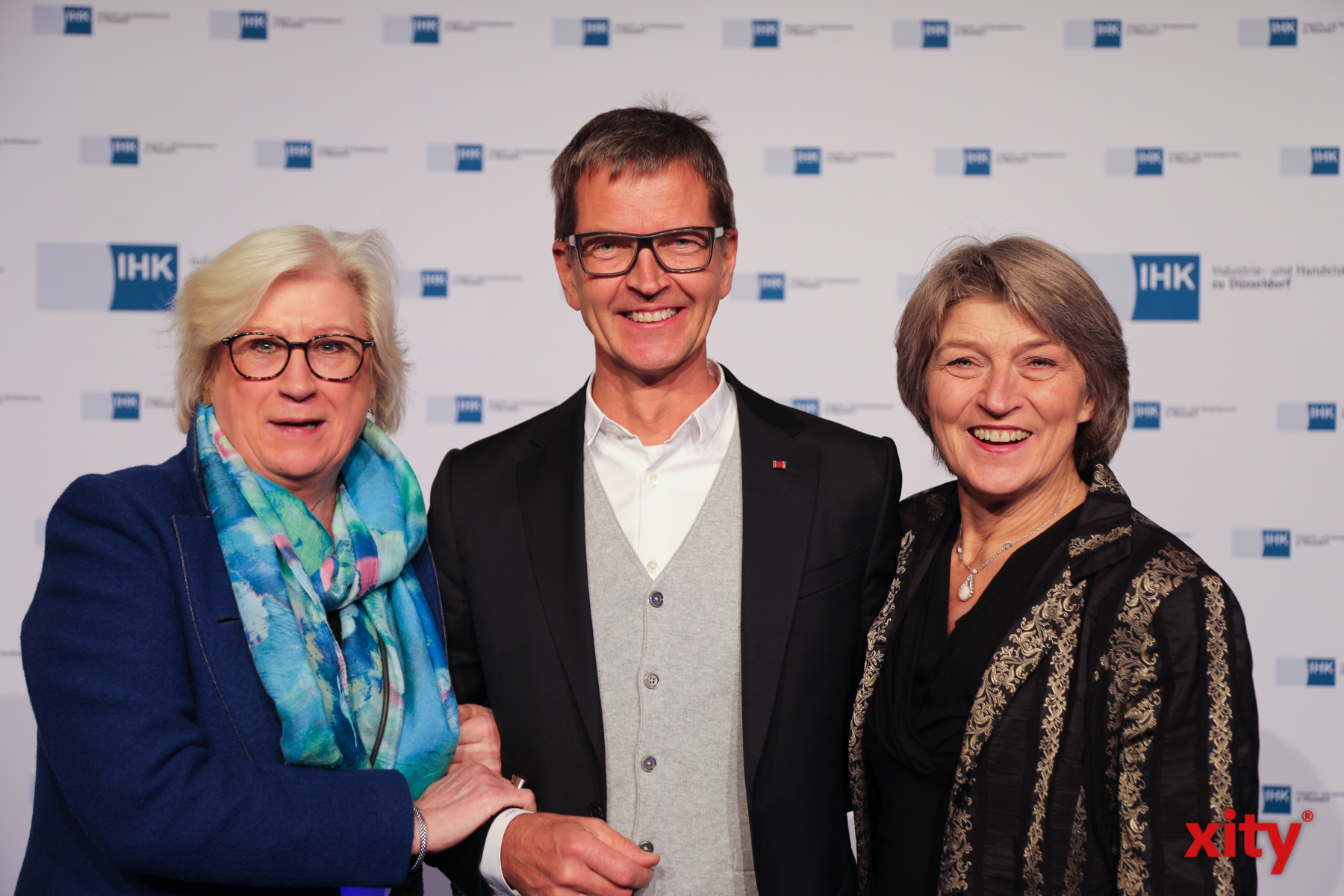 Auch unter den Gästen: Düsseldorfs bekanntester Bäckermeister, Josef Hinkel (Foto: xity)