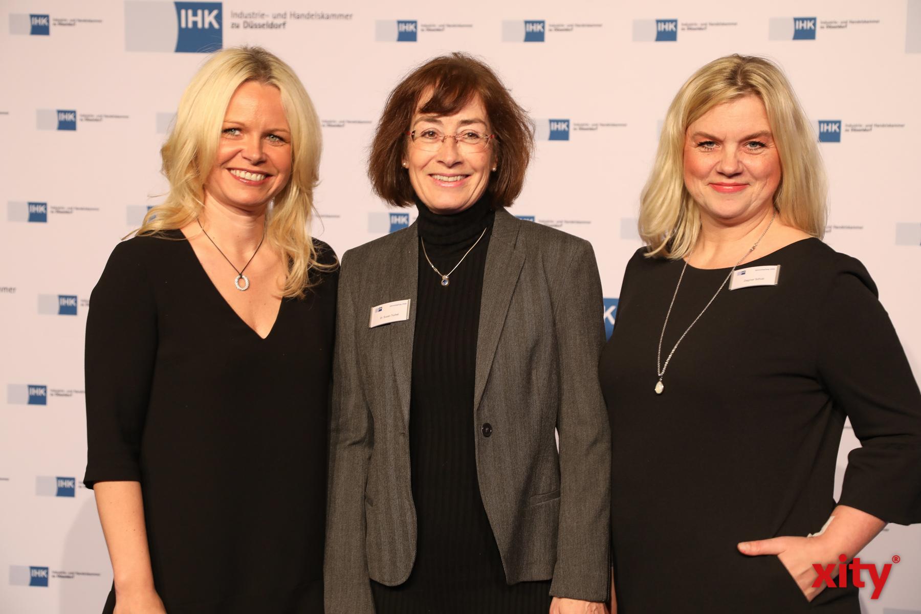 Angela Erwin, Dr. Susan Tuchel und Dagmar Schulz (Foto: xity)