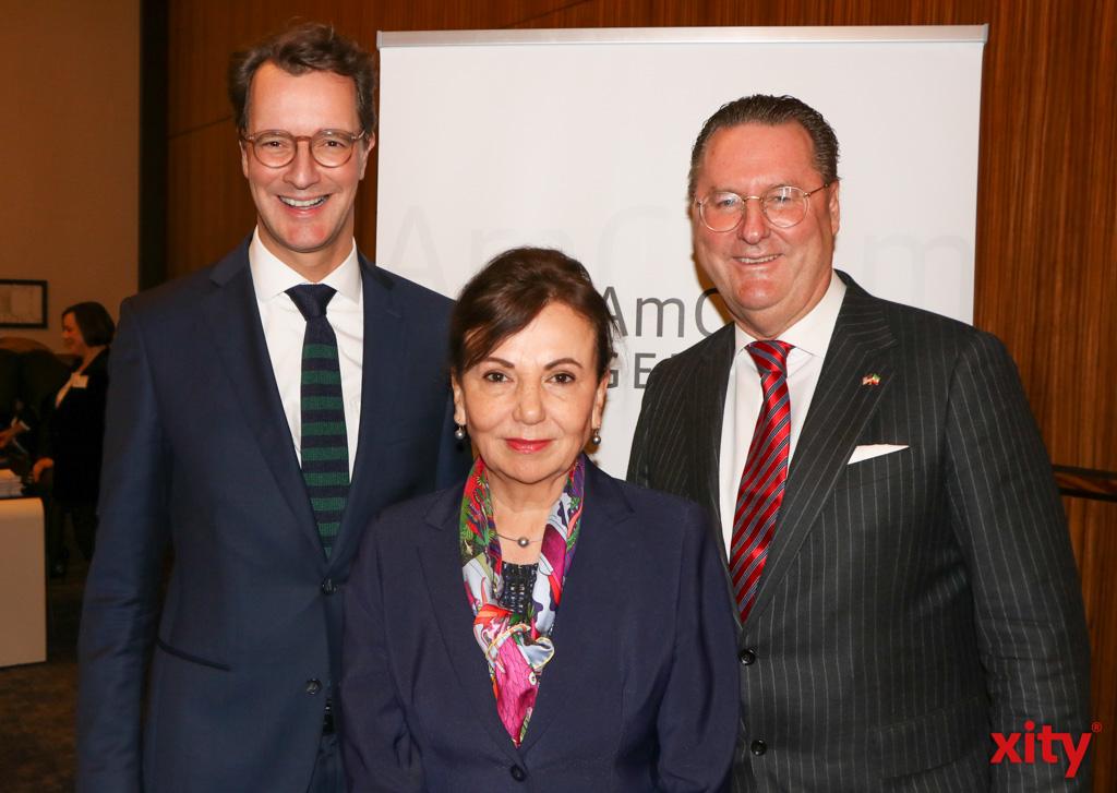Hendrik Wüst, Petra Wassner und Dr. Alexander Schröder-Frerkes (Foto: xity)