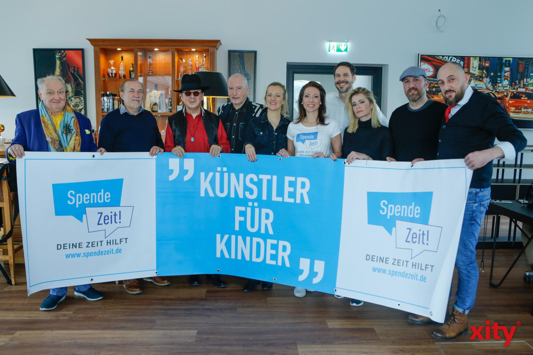 Düsseldorfer Künstler spenden für Kinder