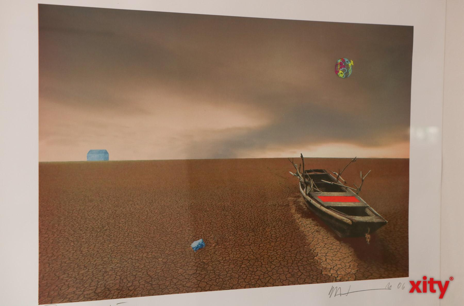 Das Kunstwerk des Künstlers H.A. Schult.(Foto: xity)