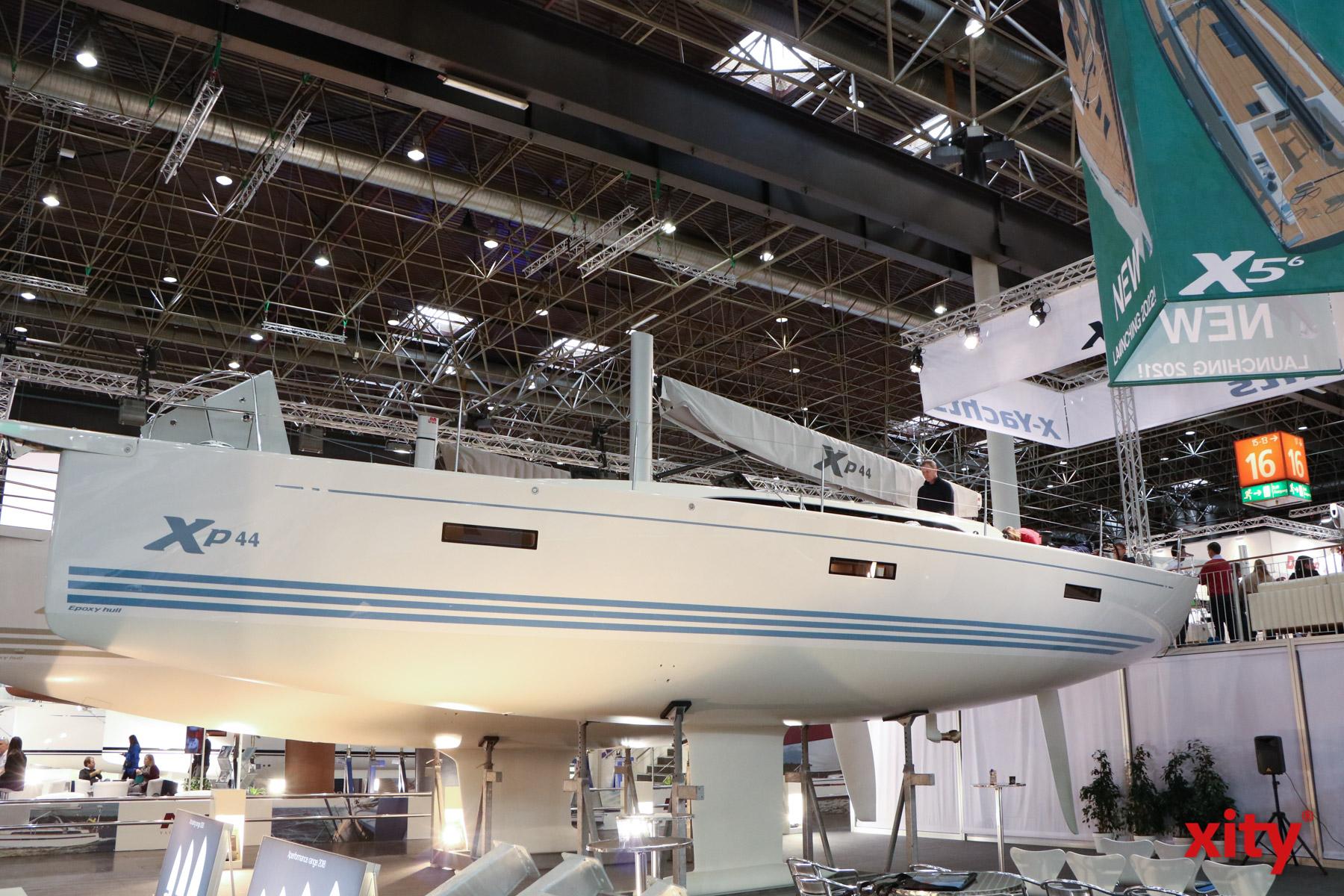 Auch der Blick unters Boot ist auf der Messe möglich (Foto: xity)