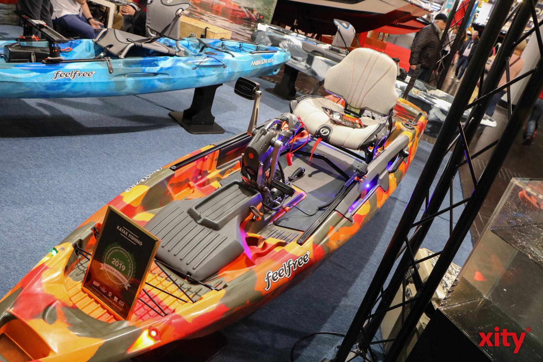 Auch das Tretboot findet auf der Messe boot Platz. Wenn auch in einer moderneren und sportlicheren Variante (Foto: xity)