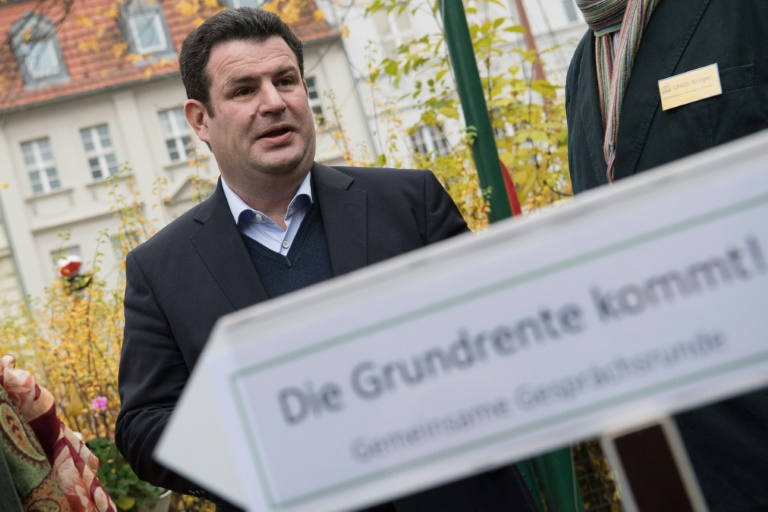 SPD hält ungeachtet von Kritik an Grundrente fest (© 2020 AFP)