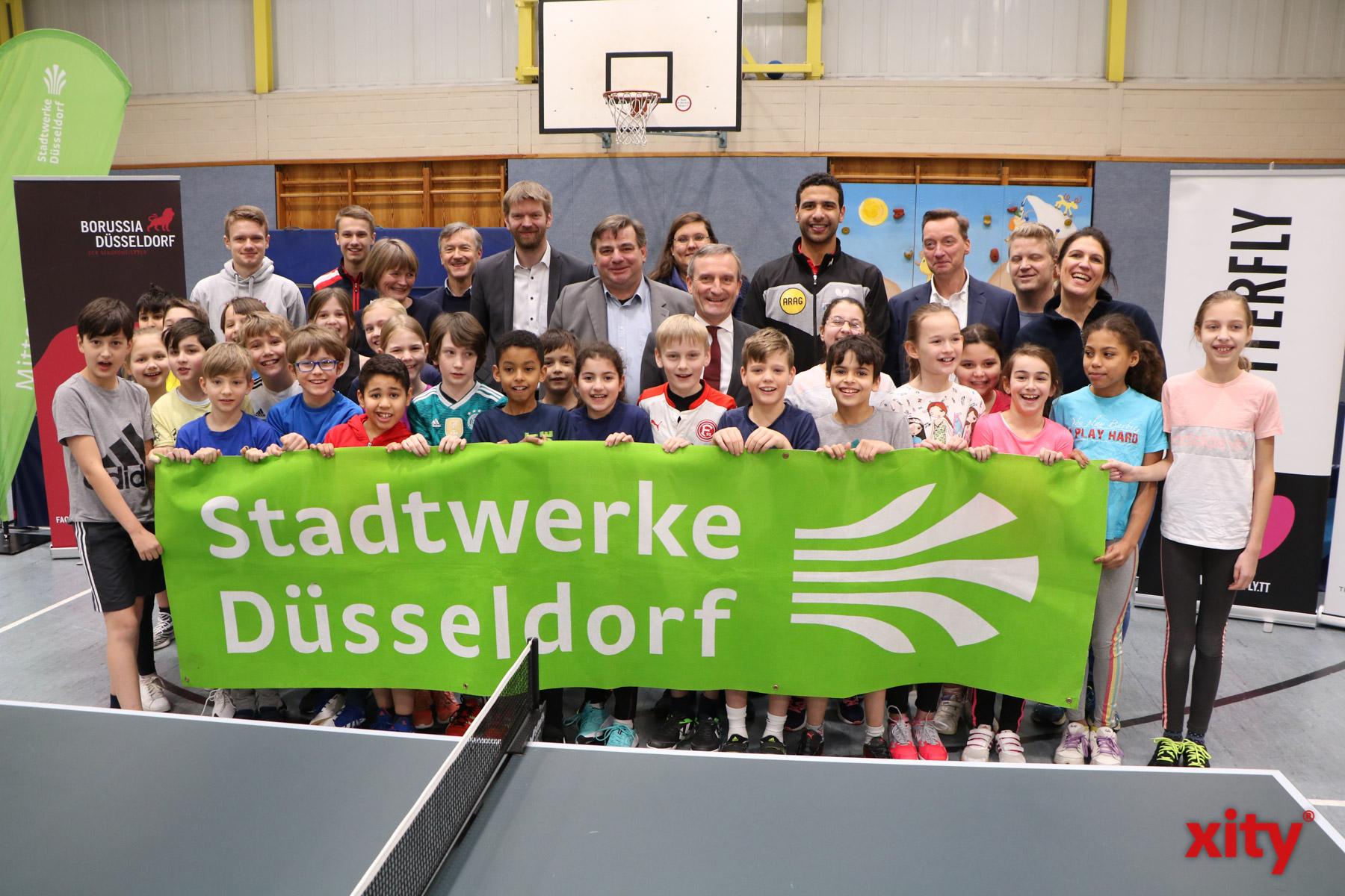 """Der Auftakt der zehnten Auflage des """"Pausenkönigs"""" fand an der Gutenbergschule in Grafenberg statt (Foto: xity)"""