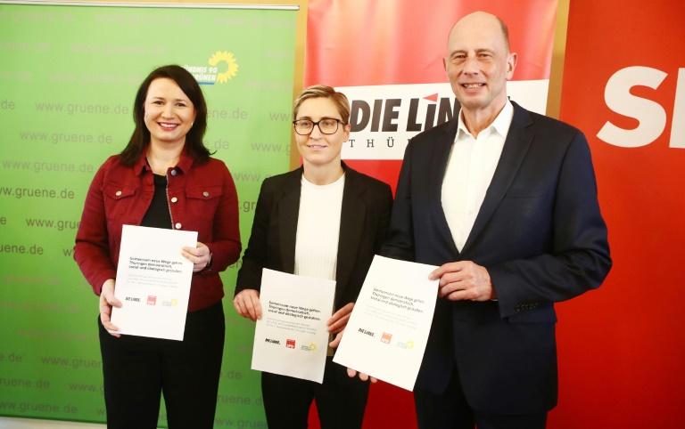Thüringer SPD gibt grünes Licht für Koalitionsvertrag mit Linken und Grünen