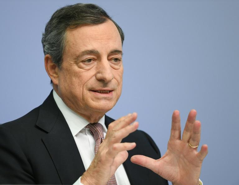 Ehemaliger EZB-Chef Draghi erhält Verdienstorden der Bundesrepublik Deutschland (© 2020 AFP)