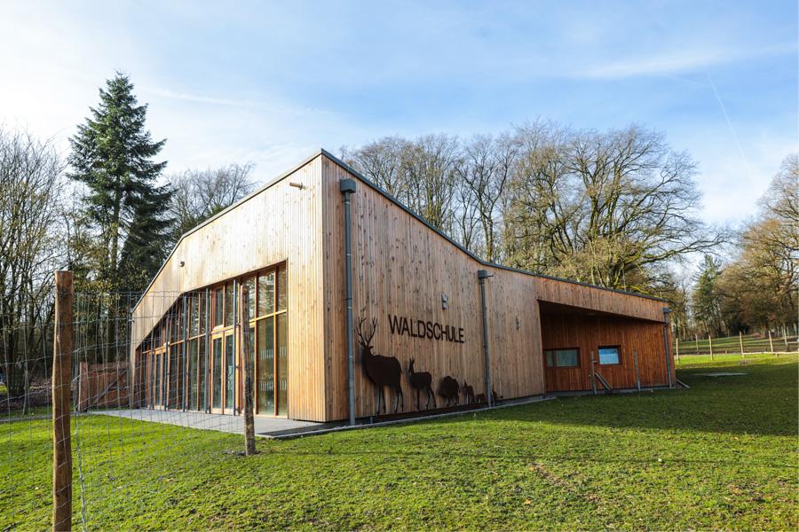 Neue Waldschule startet mit erweitertem Programm ins Jahr 2020 (Foto: Stadt Düsseldorf/Melanie Zanin)