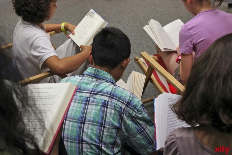 Nachmittagsveranstaltung für Kinder in der Stadtbücherei Unterbach (Foto: xity)
