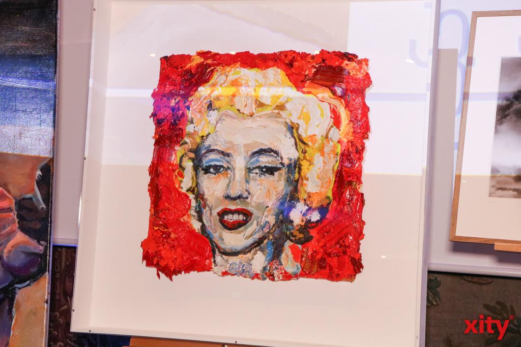 Mit seiner Marilyn schuf Bernd Schwarzer eine Ode an Andy Warhol (Foto: xity)