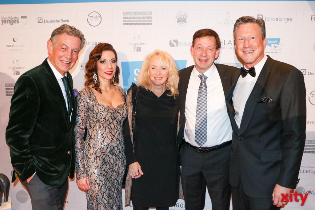 Wolfgang Rolshoven, Anja Katharina Baudeck, Birgit Hintzsche, Burkhard Hintzsche und Christian Keller(Foto: xity)