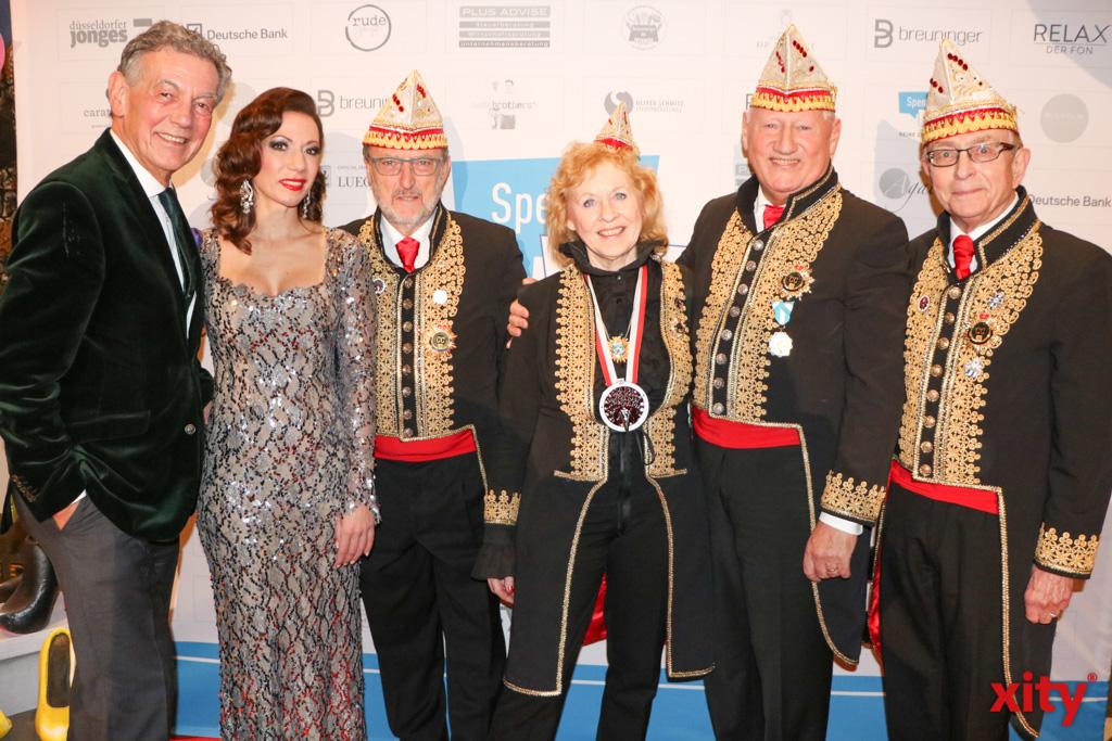 Den Düsseldorfer Ehrenamtspreis 2020 nahm der Vorstand des Comitee Düsseldorfer Carneval entgegen (Foto: xity)