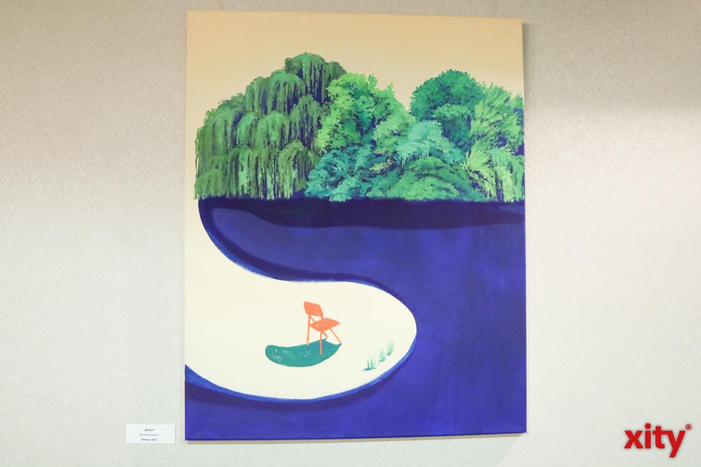 """Ruhe"", Dahye Son, Öl auf Leinwand (Foto: xity)"
