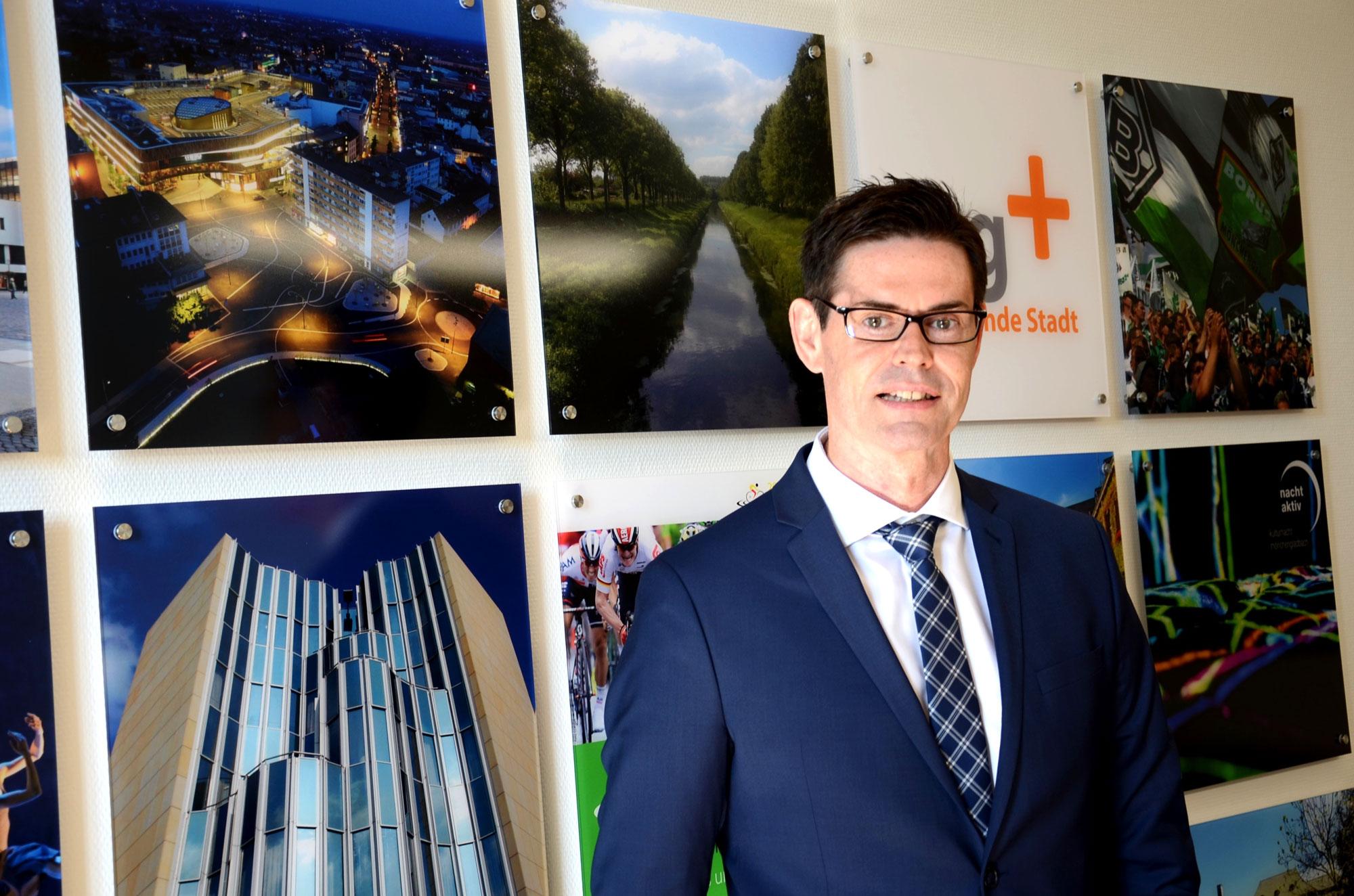 Klaus Röttgen Leiter des Fachbereichs Kinder, Jugend und Familie. (Foto: Stadt MG)