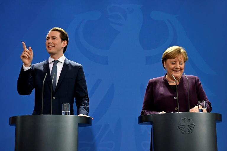 Merkel sieht Distanz der Union zu Grünen schwinden (© 2020 AFP)