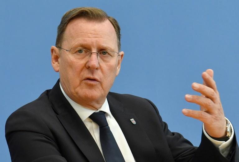 Linke, SPD und Grüne in Thüringen unterzeichnen Koalitionsvertrag (© 2020 AFP)