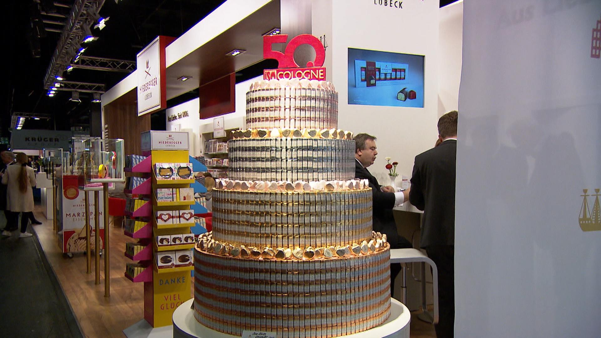 50. Süßwarenmesse in Köln gestartet