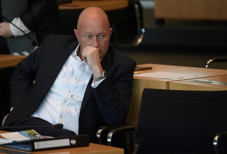 FDP-Politiker Thomas Kemmerich zum neuen Thüringer Ministerpräsidenten gewählt (© 2020 AFP)