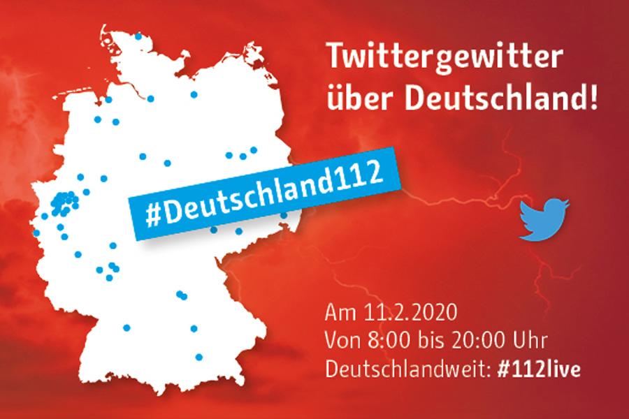 """49 Berufsfeuerwehren aus ganz Deutschland nehmen am """"Twittergewitter"""" teil (Foto: Feuerwehr Düsseldorf)"""