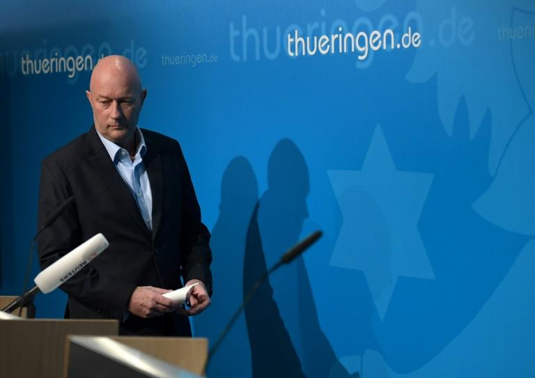 Kemmerich erklärt Rücktritt nach 25 Stunden im Amt (© 2020 AFP)