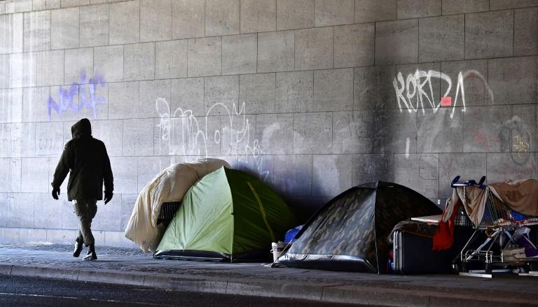 Fast 2000 Obdachlose in großangelegter Aktion in Berlin gezählt (© 2020 AFP)