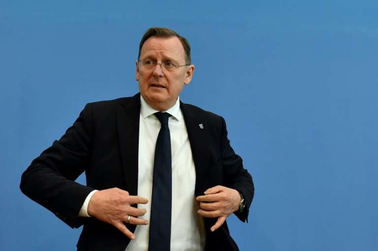 Ramelow: Kemmerich soll zügig Vertrauensfrage stellen (© 2020 AFP)