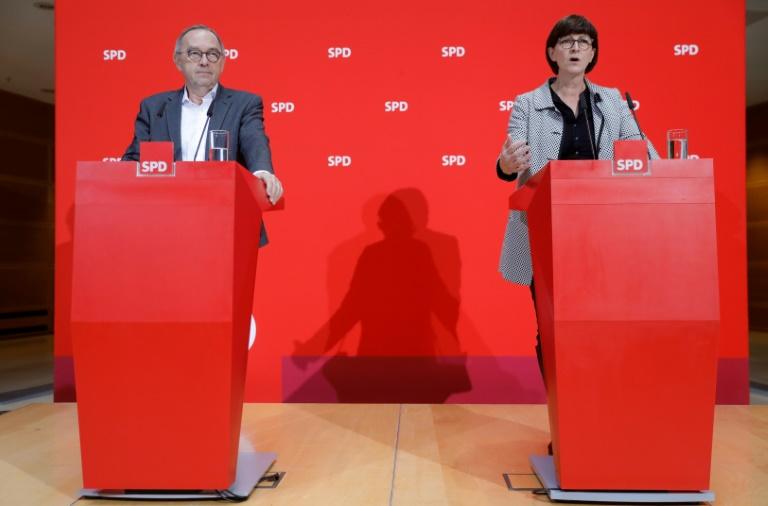SPD-Vorstand berät in Berlin über Arbeit und Europa (© 2020 AFP)