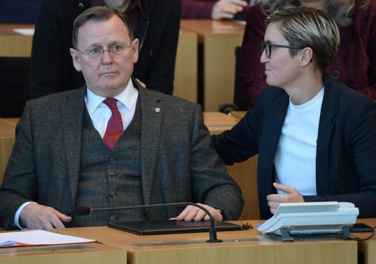"""Linke will vor neuer Ministerpräsidentenwahl in Thüringen """"Reihe der Demokraten schließen"""" (© 2020 AFP)"""