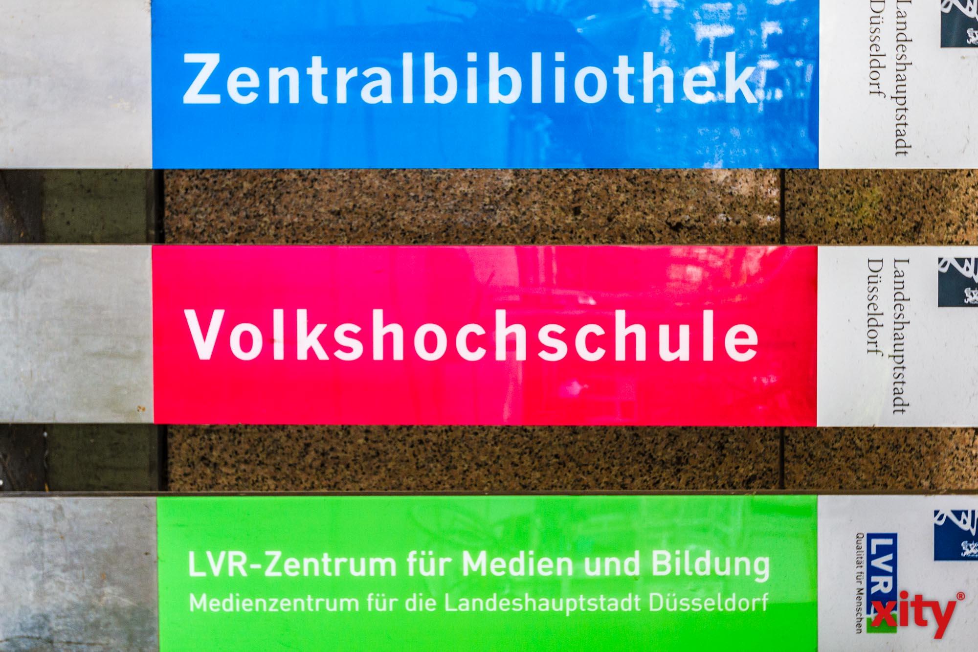 Vortrag und Gespräch in der Zentralbibliothek Düsseldorf (Foto: xity)