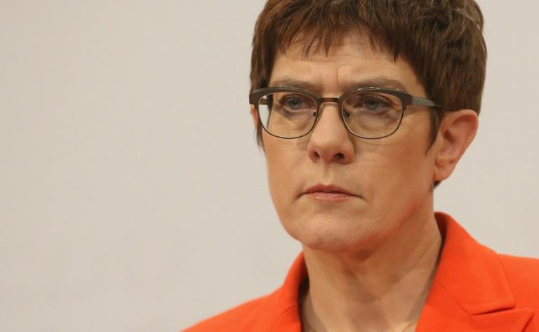AKK verzichtet auf Kanzlerkandidatur und will bald CDU-Vorsitz abgeben (© 2020 AFP)