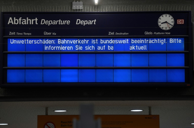 Fernverkehr der Deutschen Bahn läuft allmählich wieder an (© 2020 AFP)