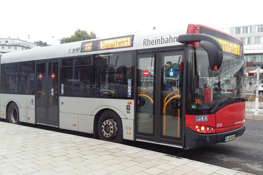 Buslinien 736 und 805 fahren kommende Woche eine Umleitung (Foto: xity)