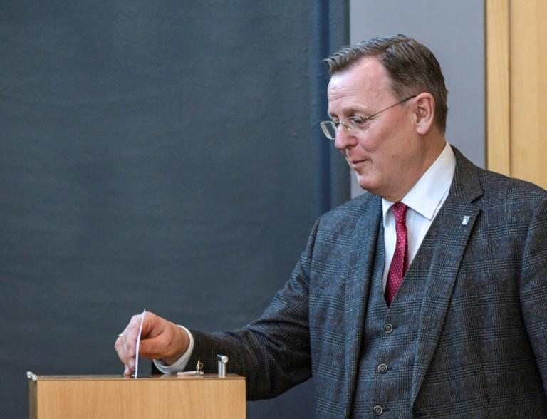 Ramelow strebt Ministerpräsidentenwahl bereits in kommender Woche an (© 2020 AFP)