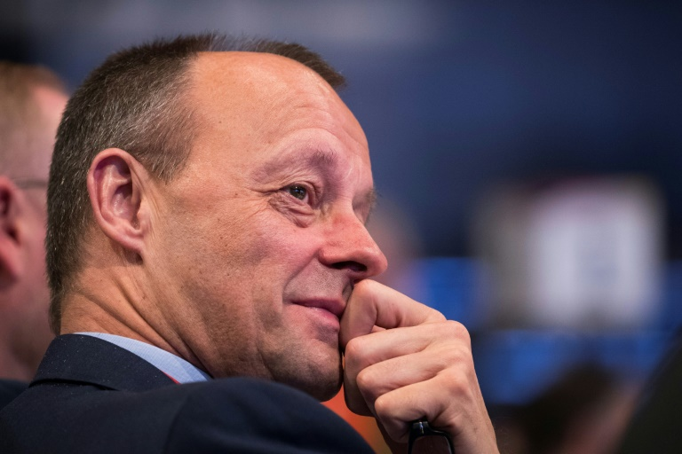 Merz: Unterstütze AKK bei Organisation ihrer Nachfolge und der Kanzlerkandidatur (© 2020 AFP)