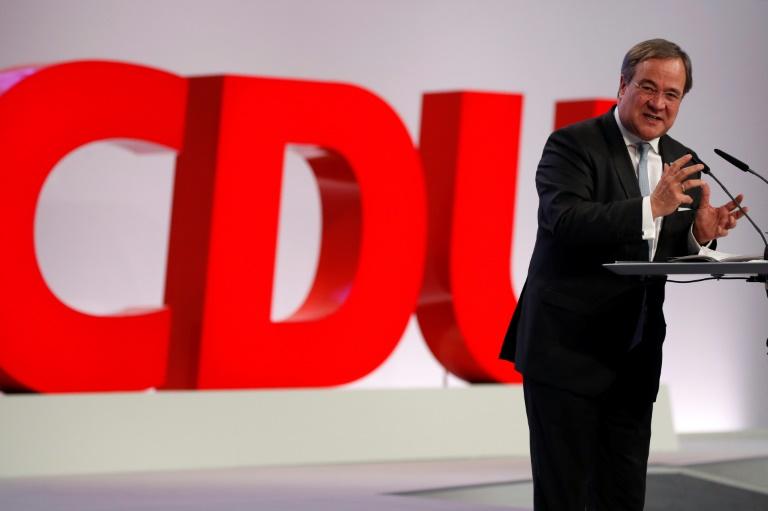 Laschet ruft CDU zu Geschlossenheit auf (© 2020 AFP)