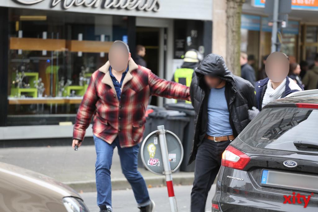 Der Randalierer konnte festgenommen werden (Foto: xity)