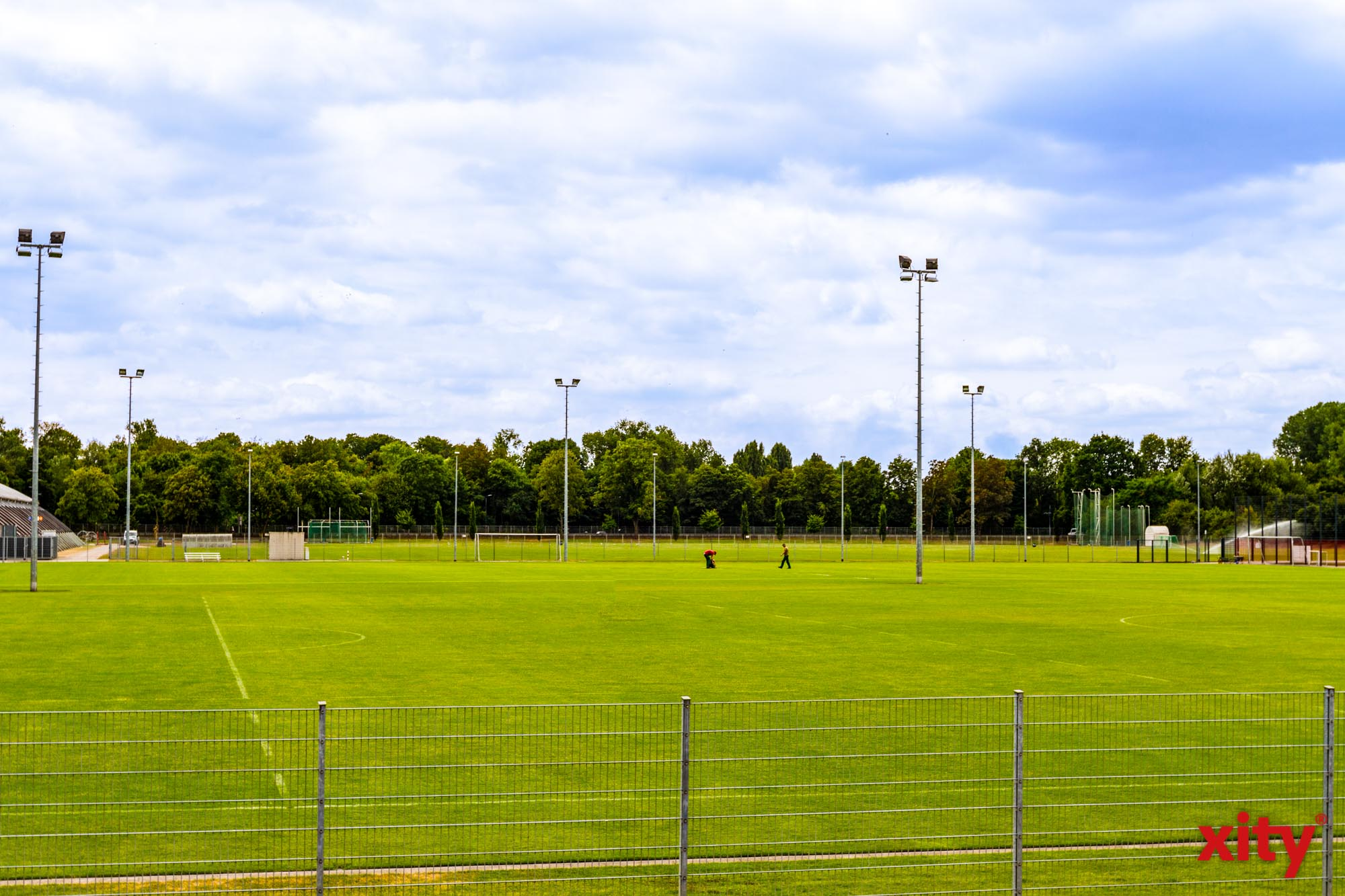 Nationalmannschaft im Blindenfußball trainiert im Arena-Sportpark für internationales Turnier (Foto: xity)