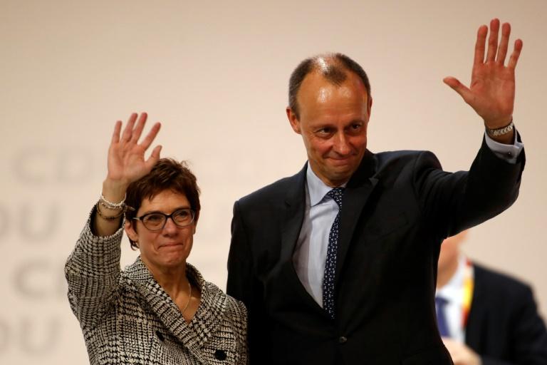 """Sprecher: Merz stimmt sich """"mit allen Beteiligten"""" zur Rolle in der CDU ab (© 2020 AFP)"""