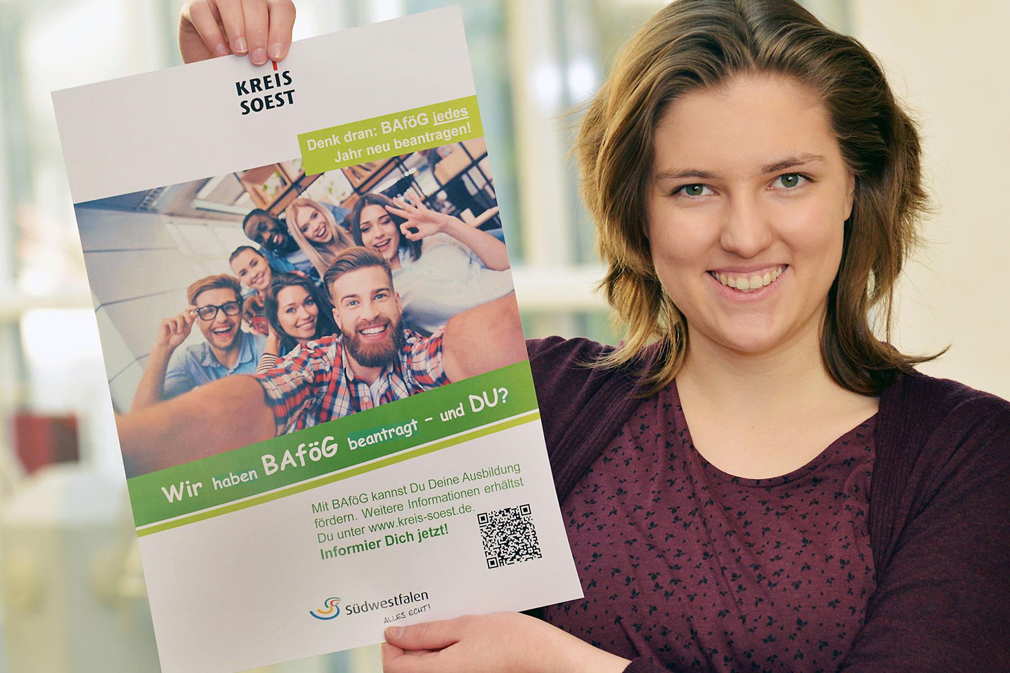 1.234 Anträge auf Schüler-BAföG gingen im vergangenen Jahr beim Kreis Soest ein. 940 wurden positiv beschieden. (Foto: Thomas Weinstock/ Kreis Soest)