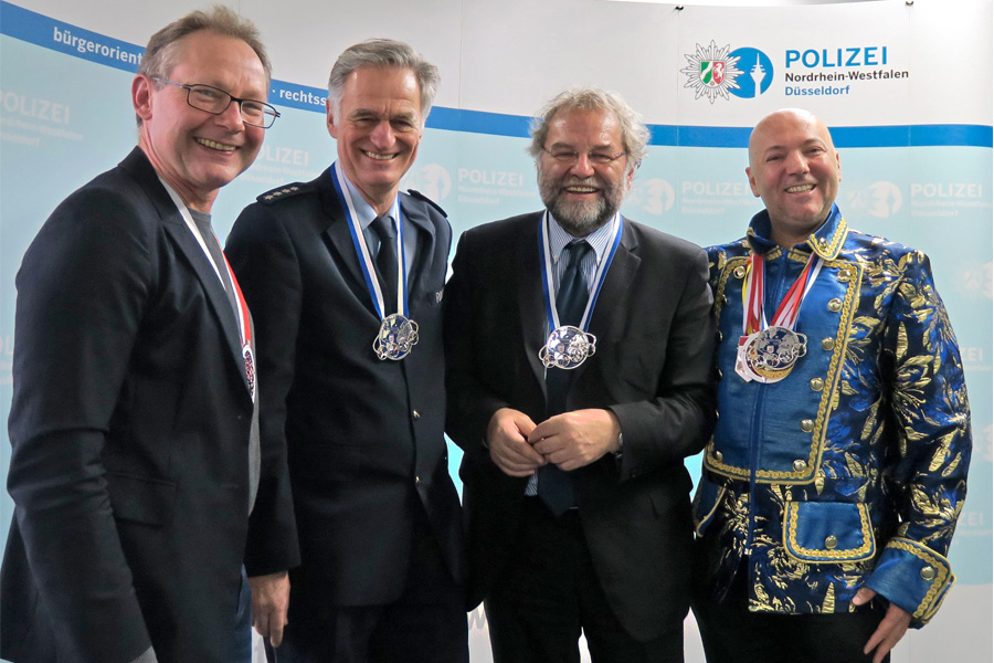 Walter Schuhen, Dirk Sauerborn, Norbert Wesseler und Ataman Yilderim (Foto: Barbara Schmitz)