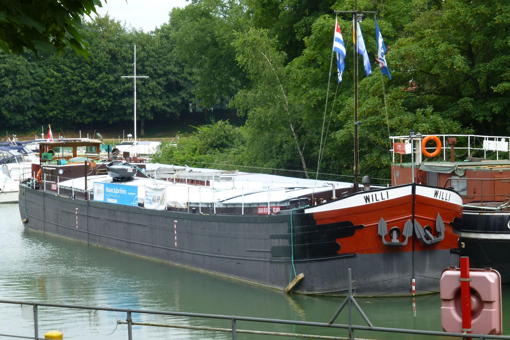 Binnenschiff-Willi-II. (Foto: Stadt Wertheim)