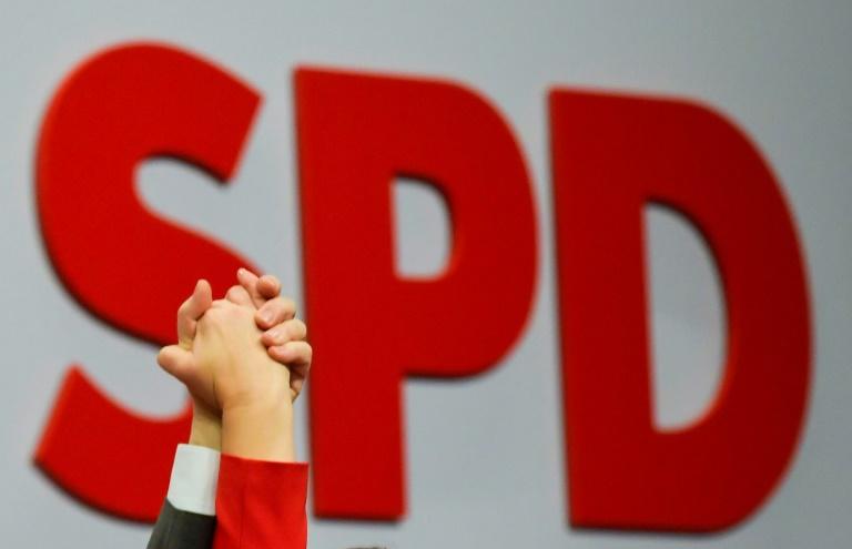 SPD schließt GroKo-Fortsetzung ohne Merkel aus (© 2020 AFP)