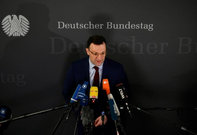 """Spahn sieht Coronavirus-Situation in Deutschland """"unter Kontrolle"""" (© 2020 AFP)"""